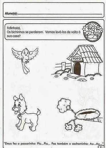 Atividades Dia Dos Animais 4 De Outubro Atividades Pedagogicas