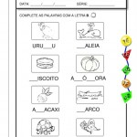 Atividades de consoantes para imprimir
