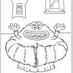 Desenhos para colorir – Universidade Monstros