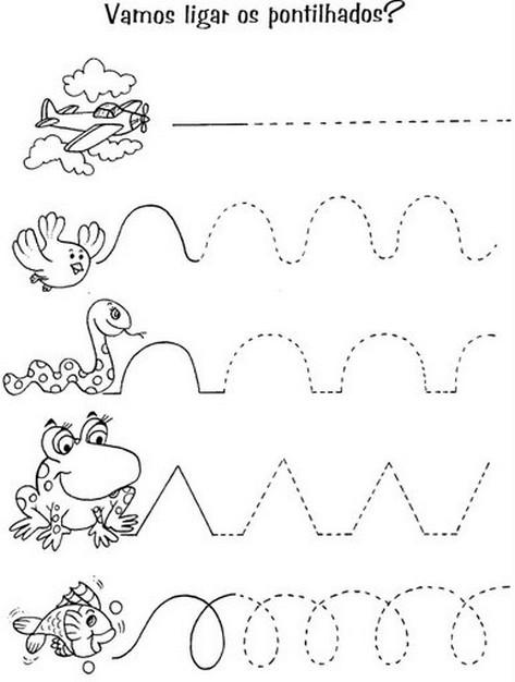 Exercícios de alfabetização primários