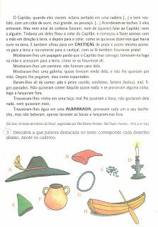 Atividade sobre o descobrimento do Brasil