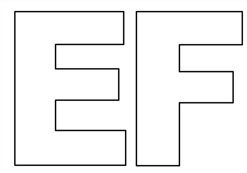 Molde Letras Moldes Grande