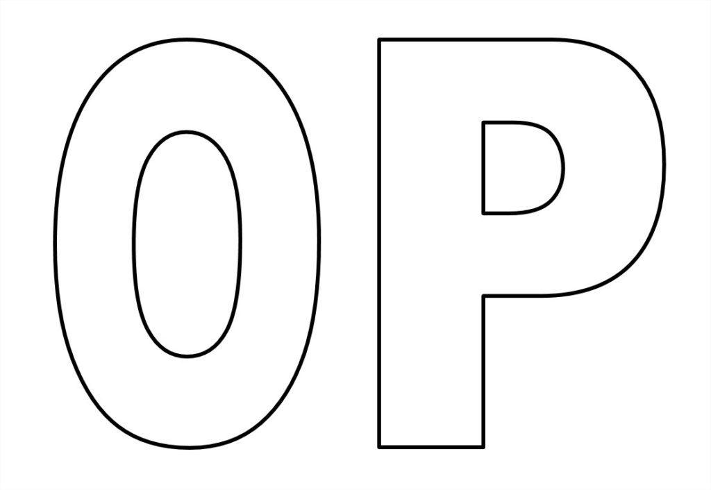 Moldes de letras grandes para imprimir for Moldes para pavimentos de hormigon