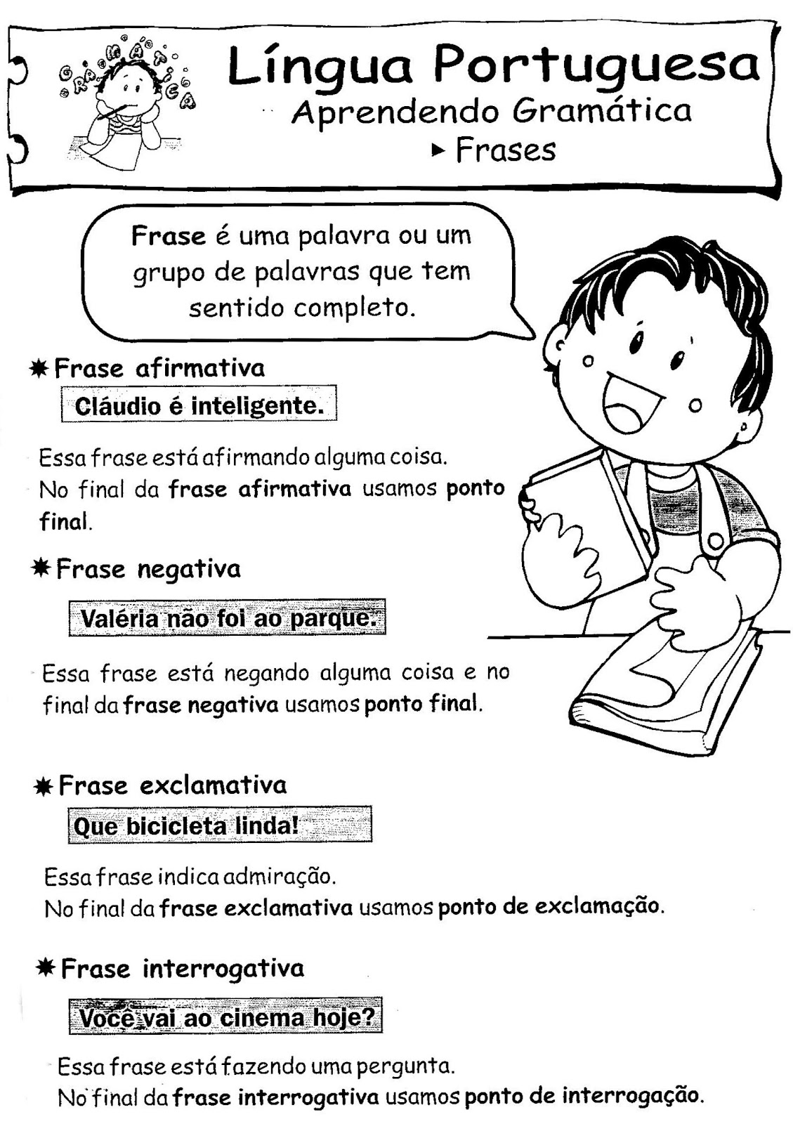 Atividades De Gramática Português Atividades Pedagógicas
