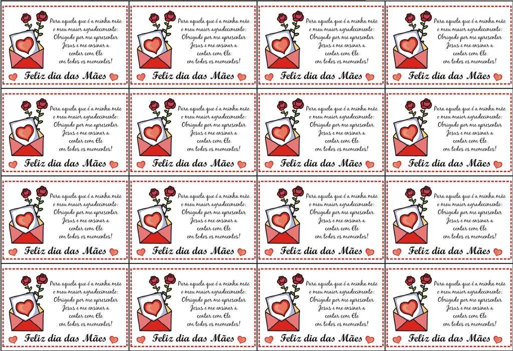 30 Modelos Cartões De Dia Das Mães Para Imprimir