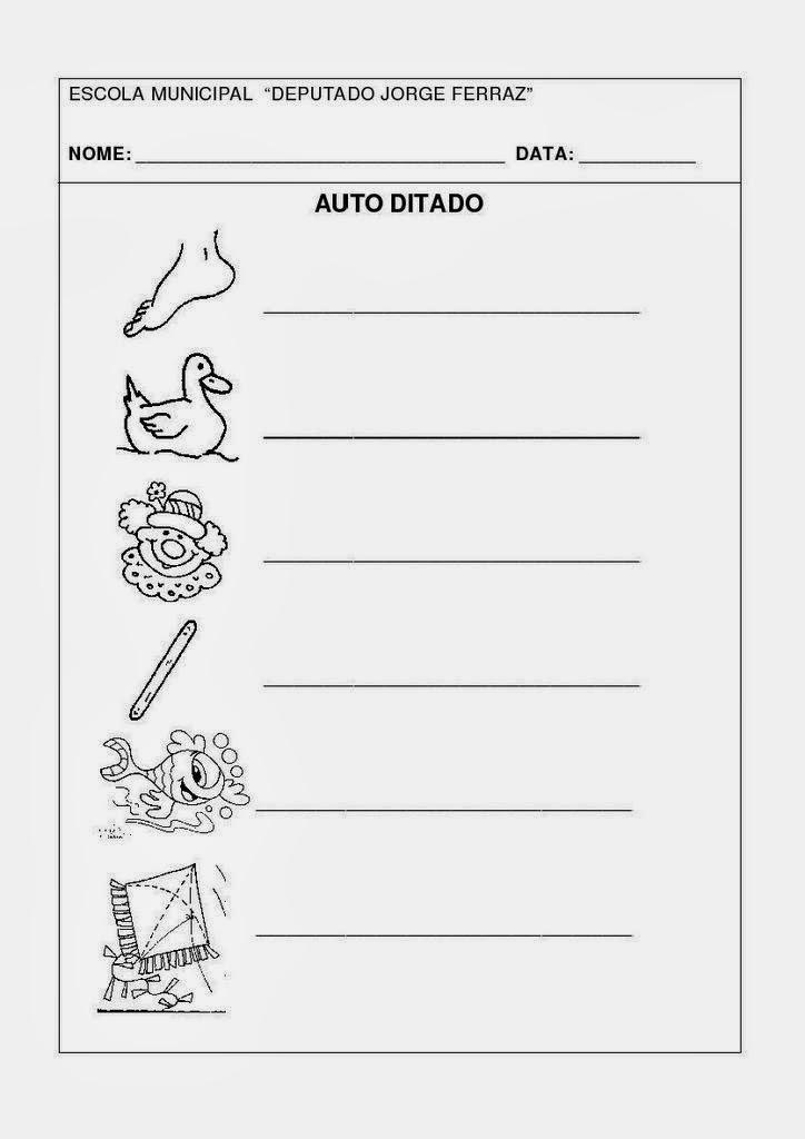 Atividades Com A Letra P Prontas Para Imprimir Atividades
