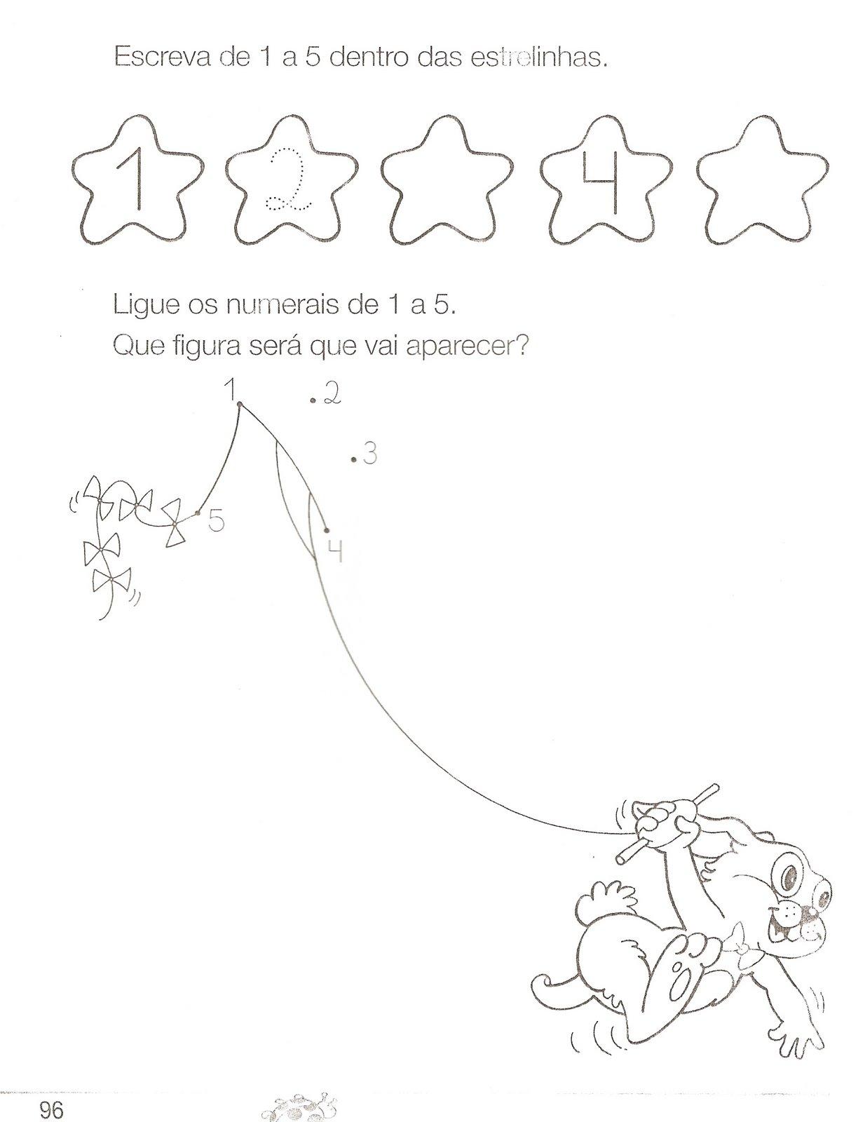 Atividades Com Numero 5 Para Educação Infantil