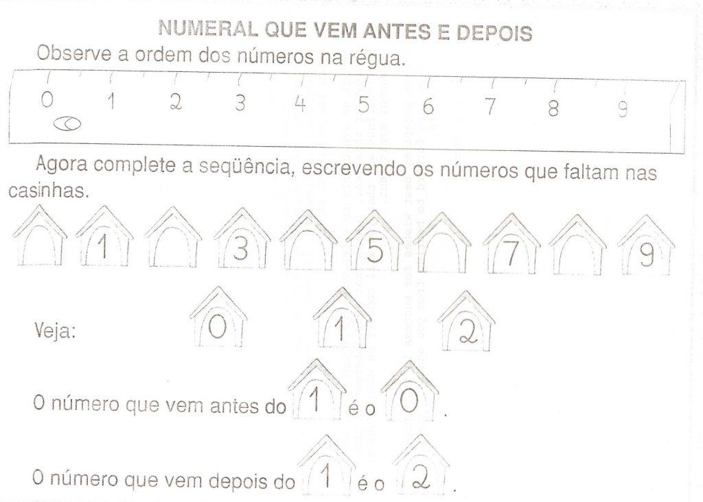 ATIVIDADES COM NUMERO 9