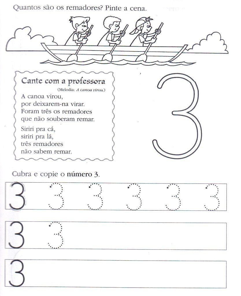 atividades com o numero 3