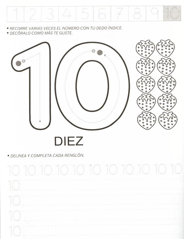 ATIVIDADES COM NUMERO 10