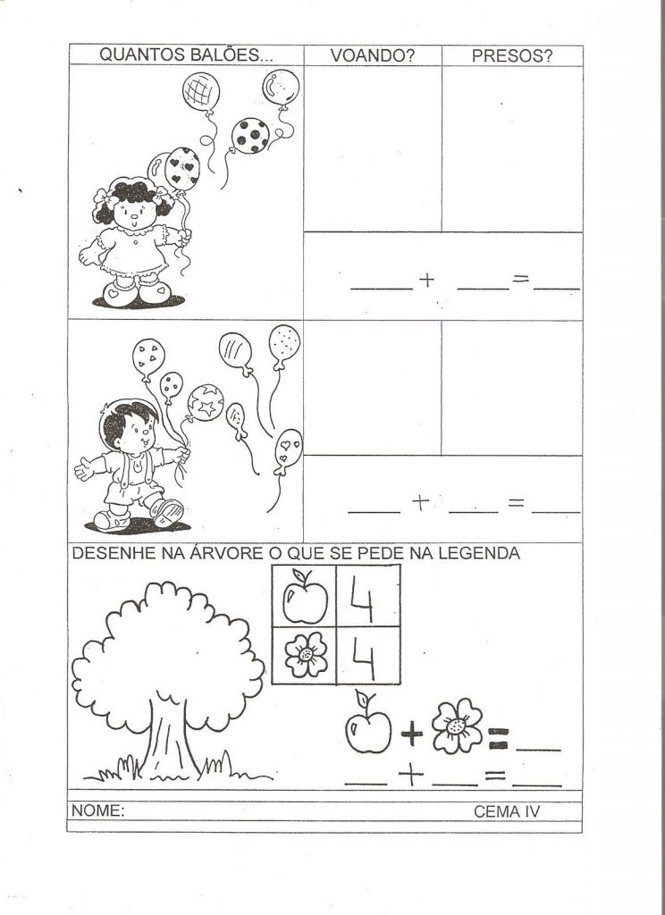 ATIVIDADES COM NUMERO 8 PARA EDUCAÇÃO INFANTIL