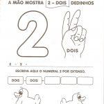 ATIVIDADES COM NUMERO 2 PARA EDUCAÇÃO INFANTIL