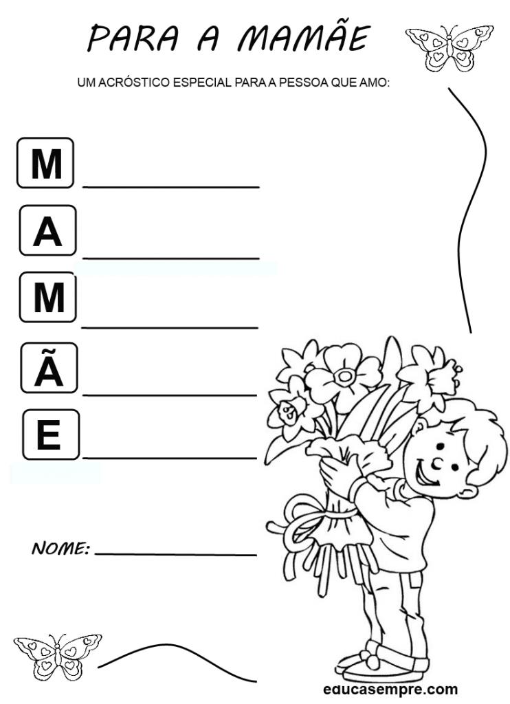 acrostico mamae