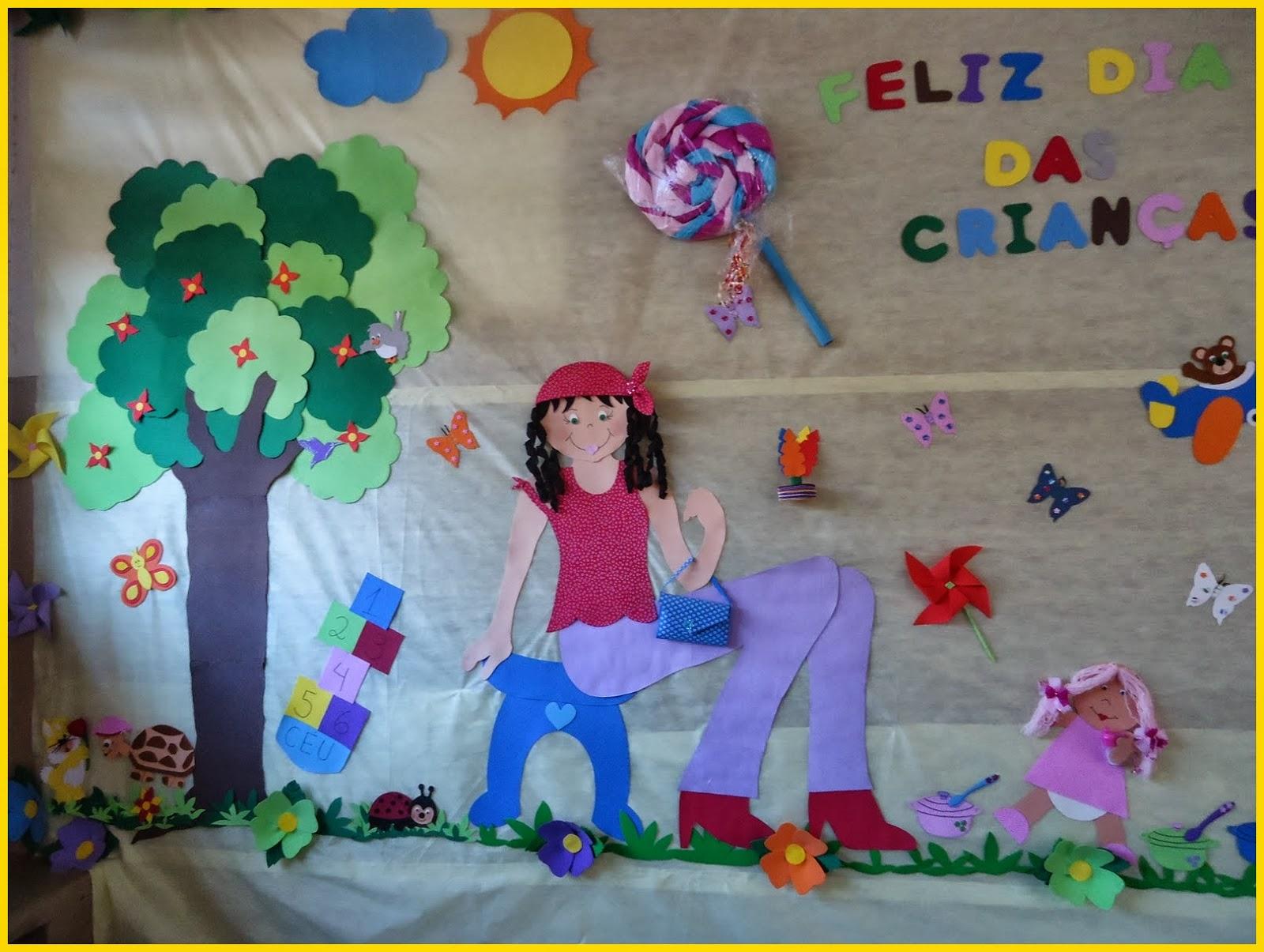 Painel E Mural Para O Dia Das Criancas Imagens