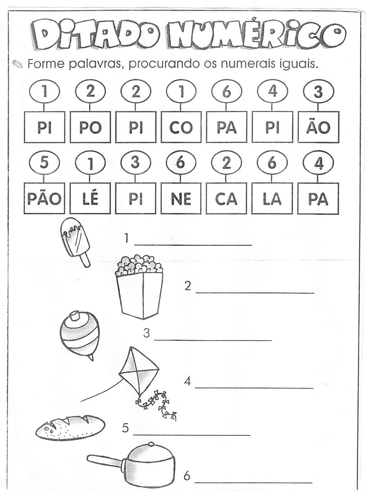 Atividades Com Silabas Simples Para Formar Palavras