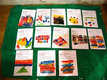 TÉCNICAS DE PINTURA NA EDUCAÇÃO INFANTIL