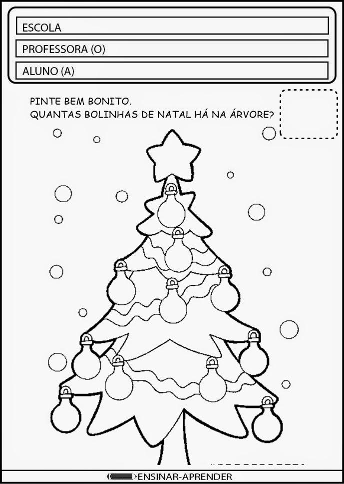Atividades Sobre Natal Atividades Pedagógicas