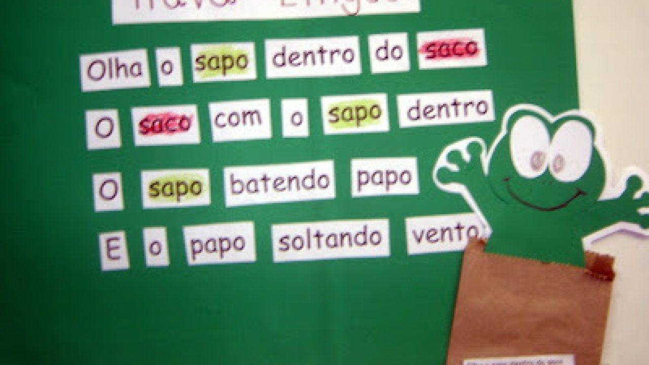 Ideias De Atividades Sobre Trava Linguas