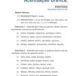 ATIVIDADES DE PROPAROXÍTONAS PARA O 8º ANO