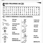 ATIVIDADES DE ORTOGRAFIA COM PALAVRAS COM L E LH