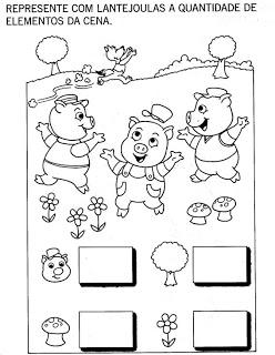 Desenhos De Os Tres Porquinhos Para Colorir Jogos De Pintar E