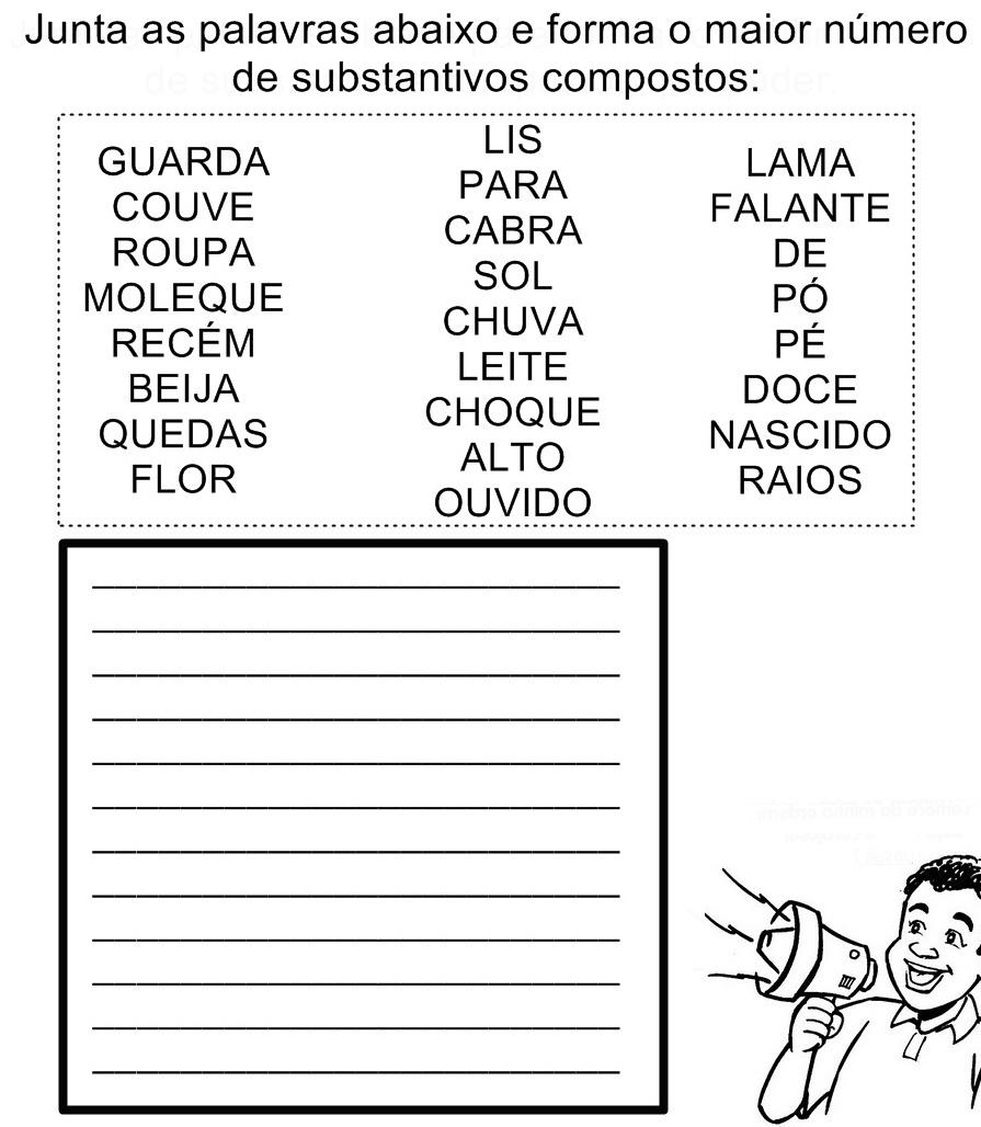 Quais são os substantivos compostos