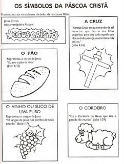 Atividades Sobre a Páscoa Evangélica