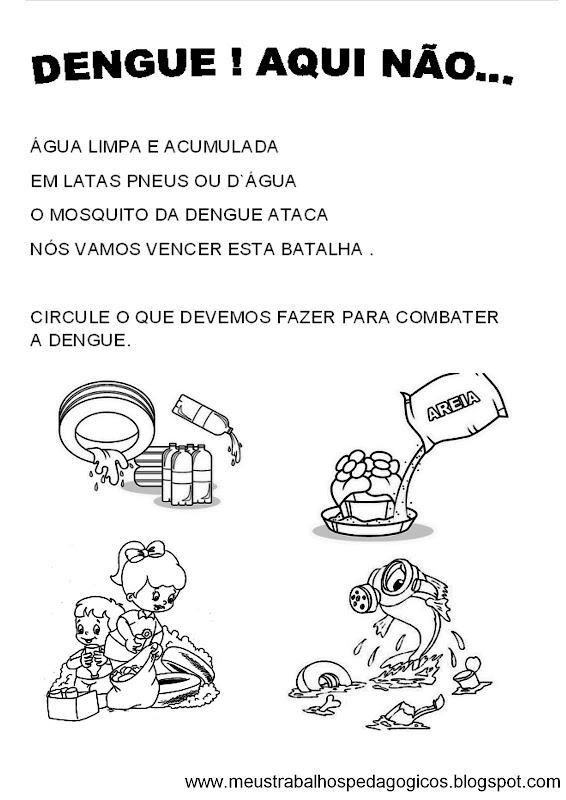 TIVIDADES SOBRE O MOSQUITO DA DENGUE