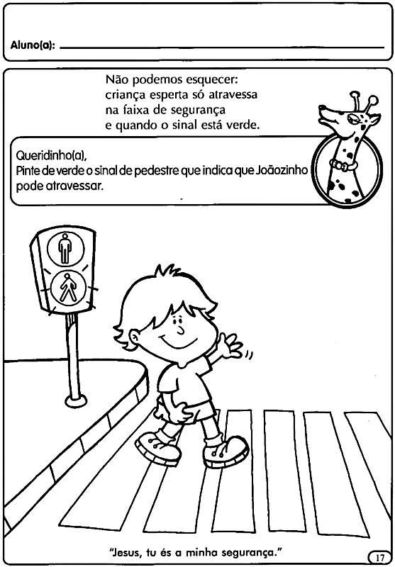Atividades Sobre O Transito Para Educacao Infantil