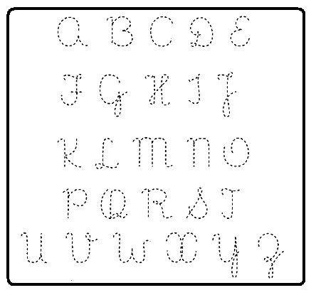Caderno de Caligrafia para Imprimir com Letras Pontilhadas em PDF