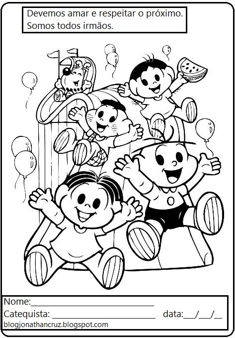 catequese infantil desenhos para colorir