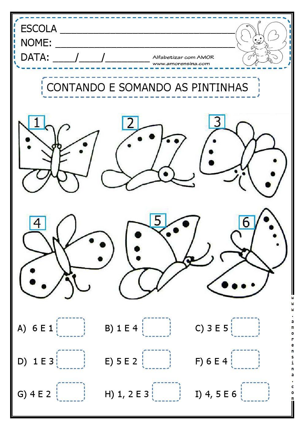 Atividades De Matematica Em Libras Para Imprimir