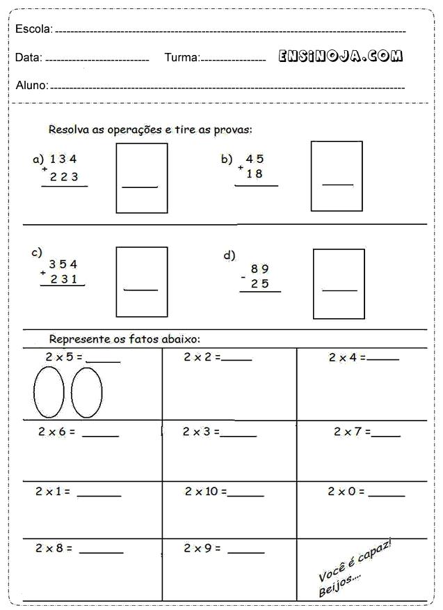 Situações problemas de matemática ensino fundamental