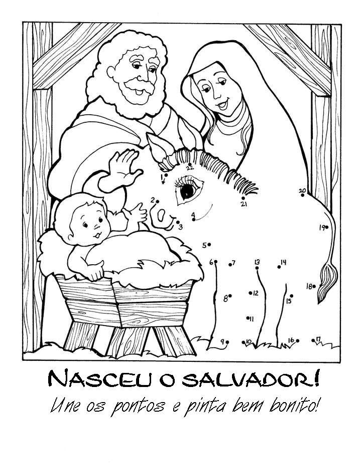 ATIVIDADES SOBRE O NASCIMENTO JESUS