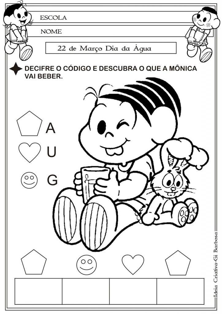 ATIVIDADES SOBRE A AGUÁ PARA EDUCAÇÃO INFANTIL