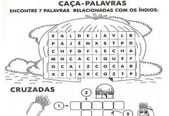 Atividades Sobre Dia Do Indio Atividades Pedagogicas