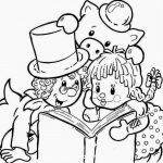 Personagens do Sitio do Picapau Amarelo para Colorir