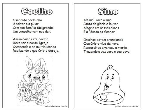 Os Simbolos Da Pascoa E Seus Significados Para Imprimir