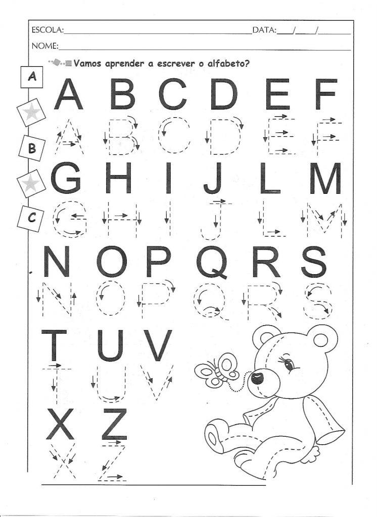 atividades do Texto: A mágia do alfabeto