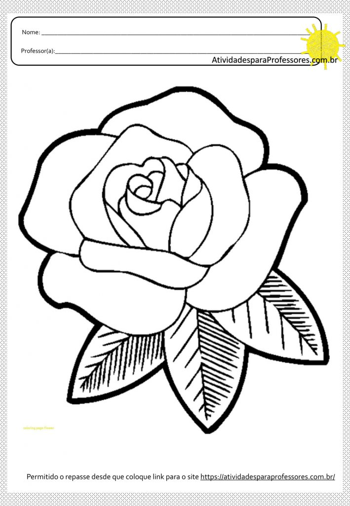 10 Atividades para Colagens e Pinturas em Flores