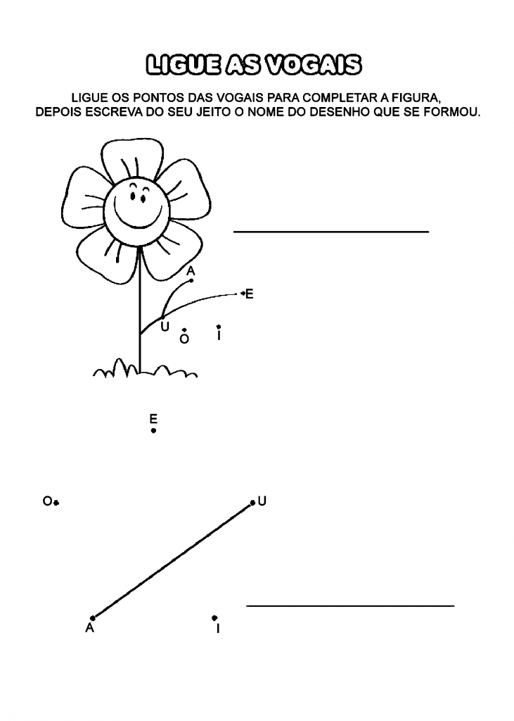 ATIVIDADES EDUCATIVAS DE LIGAR PONTOS